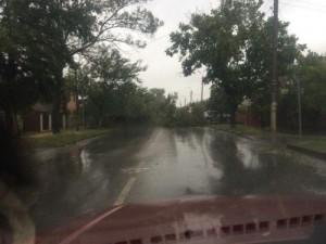 шторм в Ростове 24.09.2014