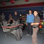 турнир по боулингу между  сотрудниками
